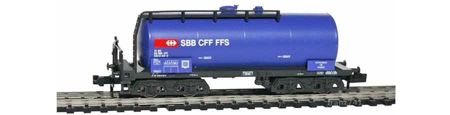 Minitrix-13690-Uacs-Kesselwagen-SBB-blau