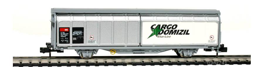 Minitrix-13877-Hbbillns-Schiebewandwagen-SBB-CARGO-DOMIZIL