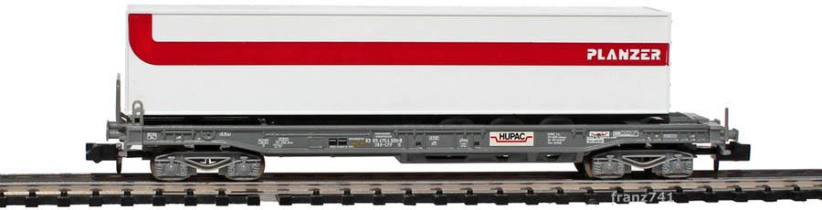 Minitrix-15045-1-sdkmms-Taschenwagen-Set-SBB-Auflieger-Planzer