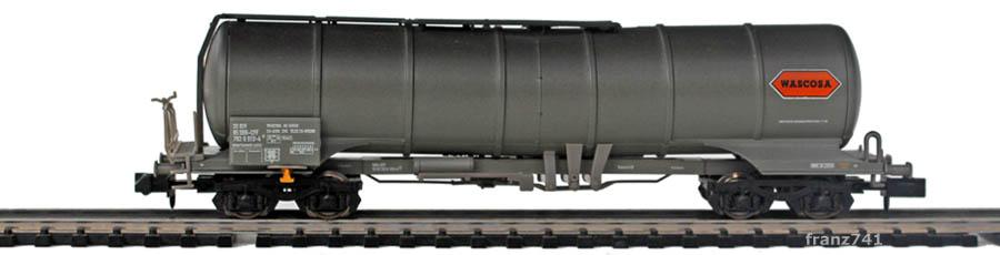 Minitrix-15163-2-Knickkesselwagen-SBB-Wascosa