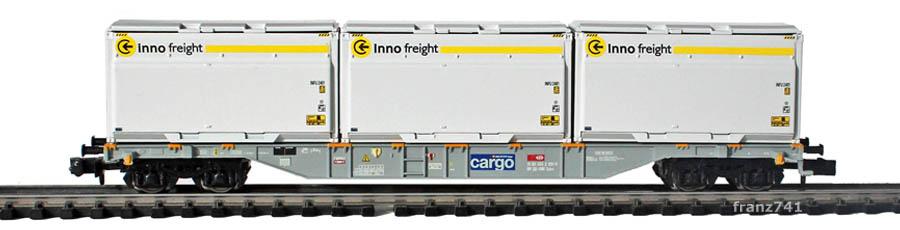 Minitrix-15523-Sgnss-Tragwagen-Woodtainer-cargo-innofreight