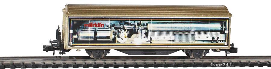 Minitrix-15605-911-Schiebewandwagen-SBB-Maerklin