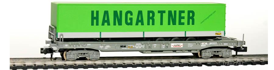 Minitrix-15645-18-HUPAC-Wagen-SBB-HANGARTNER