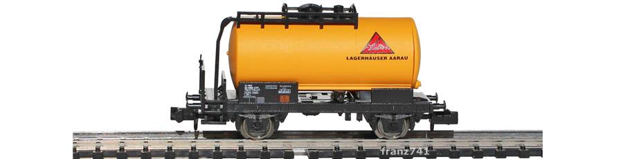 Minitrix-17102-912-Kesselwagen-Lagerhaeuser-Aarau