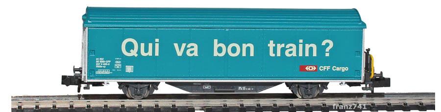 Minitrix-Set-11131-3-Hbbillns-Schiebewandwagen-SBB-Qui-va-bon-train