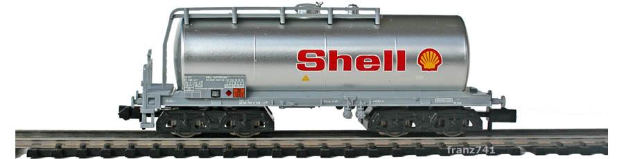 Minitrix-Set-11418-2-Kesselwagen-Shell