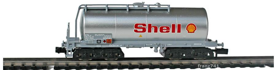 Minitrix-Set-11418-3-Kesselwagen-Shell
