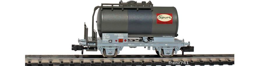Minitrix-Set-11471-Zs-Kesselwagen-SBB-Spurt