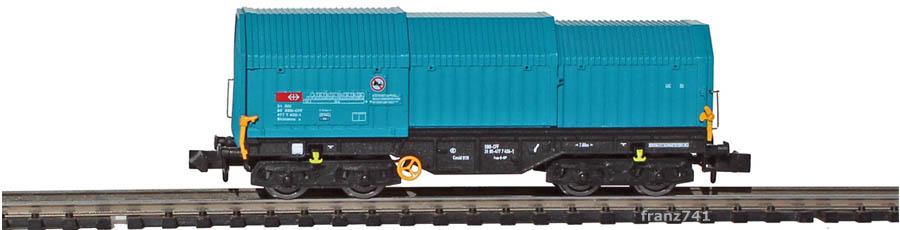 Modellbahn-Union-MU30003A-Teleskophaubenwagen-SBB