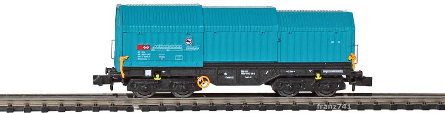 Modellbahn-Union-MU30003B-Teleskophaubenwagen-SBB
