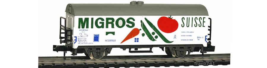 Rivarossi-9309-Kuehlwagen-MIGROS-FS