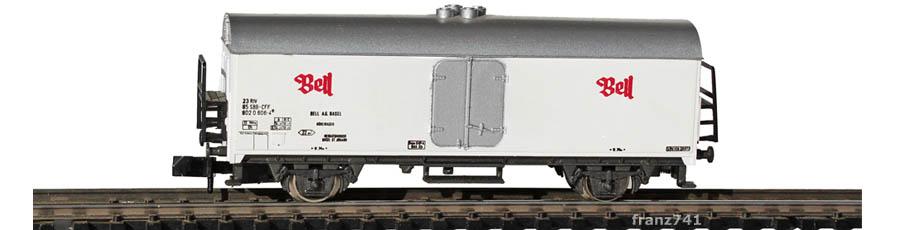 Rivarossi-9325-Kuehlwagen-BELL-SBB