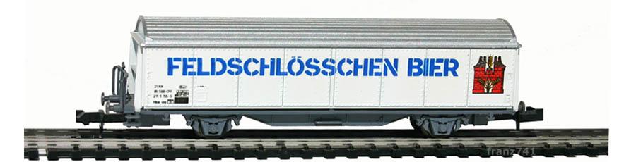 Roco-25062-Hbis-Schiebewandwagen-FELDSCHLOESSCHEN-SBB