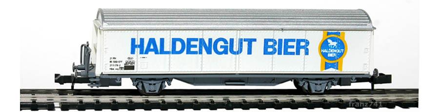 Roco-25063-Hbis-Schiebewandwagen-HALDENGUT-BIER-SBB