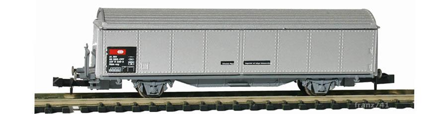 Roco-25071-V1-Hbis-Schiebewandwagen-grau-SBB