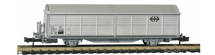 Roco-25073-V1-Hbis-Schiebewandwagen-grau-SBB