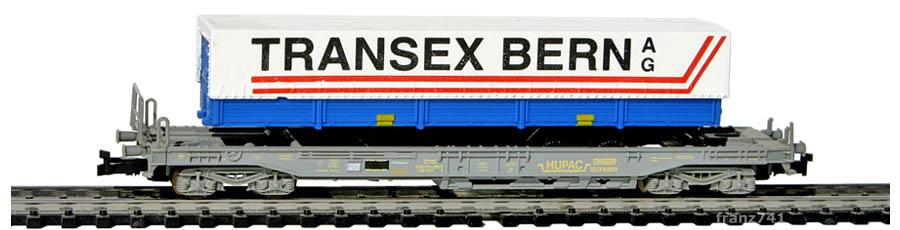 Roco-25146-1-Sdkmms-HUPAC-Taschenwagen-TRANSEX-BERN-SBB