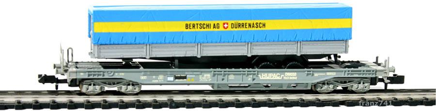 Roco-25148-V3-Sdkmms-HUPAC-Taschenwagen-BERTSCHI-DUERRENAESCH-SBB