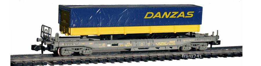 Roco-25152-V1-Sdkmms-HUPAC-Taschenwagen-DANZAS-SBB