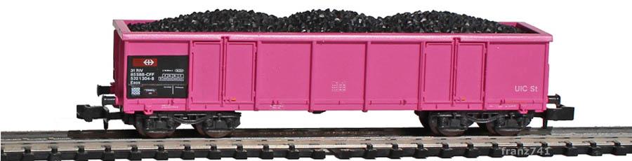 Roco-25169-Eaos-Hochbordwagen-SBB-pink