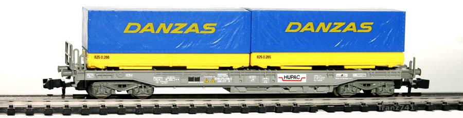 Roco-25212-V1-Sdkmms-HUPAC-Taschenwagen-DANZAS-SBB