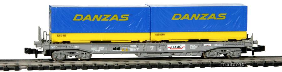 Roco-25212-V2-Sdkmms-HUPAC-Taschenwagen-DANZAS-SBB
