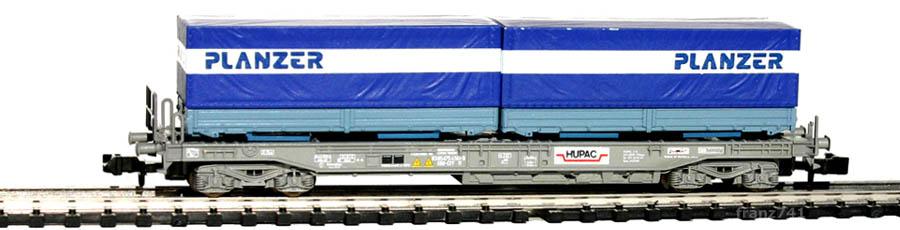 Roco-25215-Sdkmms-HUPAC-Taschenwagen-PLANZER-SBB