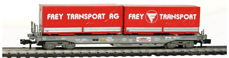 Roco-25216-Sdkmms-HUPAC-Taschenwagen-FREY-TRANSPORT-SBB