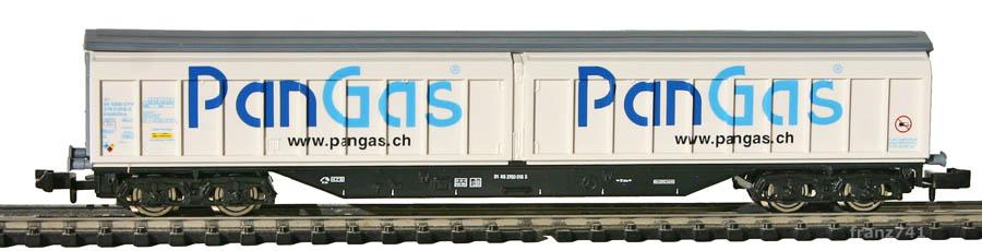 Roco-25222-Habbillns-Schiebewandwagen-PAN-GAS-SBB