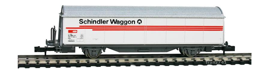 Roco-25233-Hbis-Schiebewandwagen-SCHINDLER-WAGGON-SBB