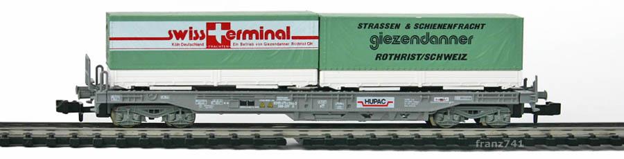 Roco-25300-Sdkmms-HUPAC-Taschenwagen-GIEZENDANNER-SBB