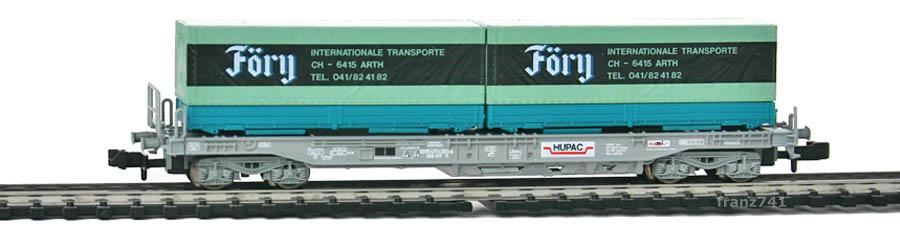 Roco-25306-Sdkmms-HUPAC-Taschenwagen-FOERY-SBB
