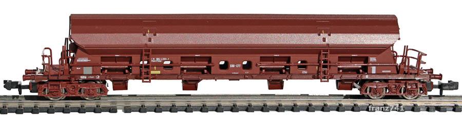 Roco-25392-Tadgs-Schwenkdachwagen-SBB-braun