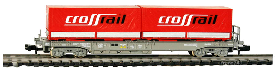 Roco-25652-Sdkmms-HUPAC-Taschenwagen-CROSSRAIL-SBB