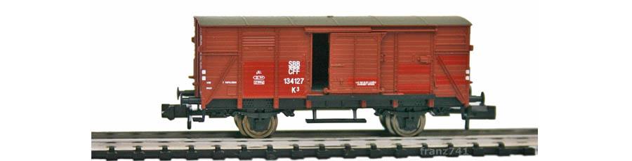 SNB-30327-K3-Gedeckter-Gueterwagen-braun-SBB