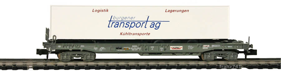 Schaer-Modelle-Gw6-Sdkmms-HUPAC-Taschenwagen-BURGENER-SBB
