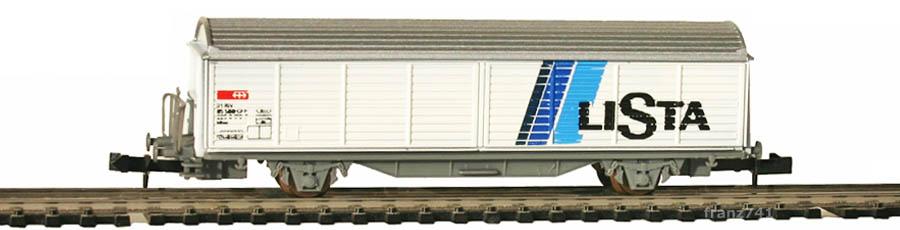 Staiber-5001-Hbis-Schiebewandwagen-LISTA-SBB-Basis-Roco
