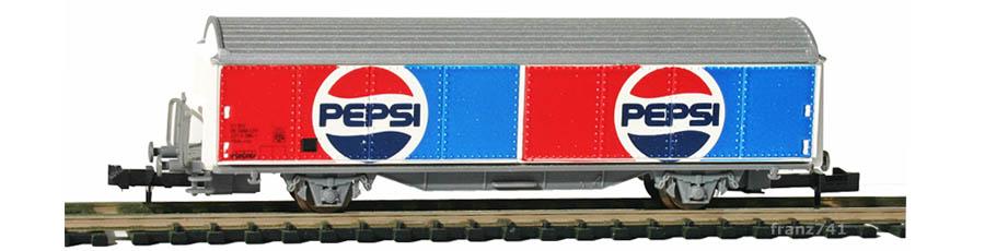 Staiber-5003-Hbis-Schiebewandwagen-PEPSI-SBB-Basis-Roco