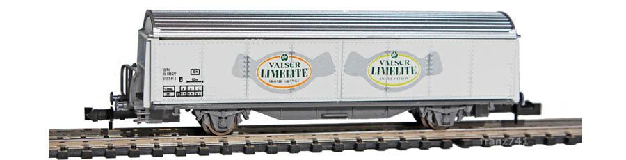 Staiber-5013-Hbis-Schiebewandwagen-VALSER-LIMELITE-SBB-Basis-Roco
