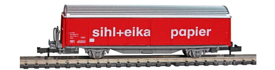 Staiber-5014-Hbis-Schiebewandwagen-SIHL+EIKA-PAPIER-SBB-Basis-Roco