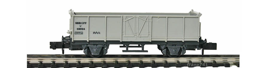 Swisstoys-33-L7-Hochbordwagen-grau-SBB