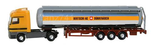 LKWs-Herpa-065498-Mercedes-Actros-LH-Chromtank-Sattelzug-Bertschi