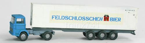 LKWs-Wiking-9085-Mercedes-Koffer-Sattelzug-Feldschloesschen
