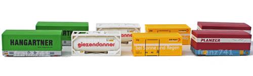 Ladegueter-Hobbytrain-H9004-Set-Schweizer-Container