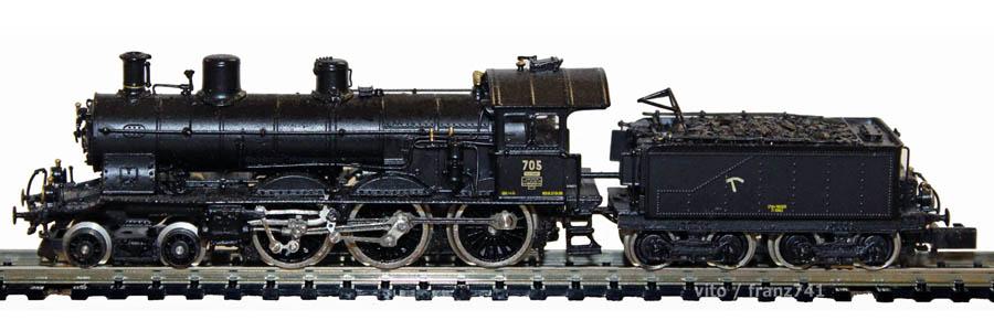 V_Lemaco-N-010_A-3-5-Dampflok-SBB-705-schwarz