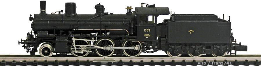 V_Lemaco-N-027-1_B-3-4-Dampflok-SBB-1369-schwarz
