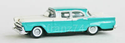PKWs-Classic-Metal-Works-50268-Ford-Fairlane-Sedan-indian-turquoise
