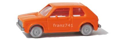 PKWs-Fleischmann-9810-VW-Golf-orange