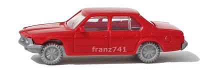 PKWs-Fleischmann-9812-BMW-745i-rot