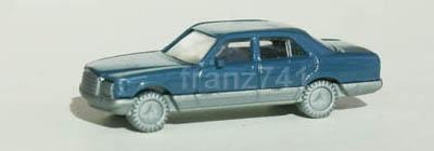 PKWs-Fleischmann-9813-Mercedes-500-SE-graublau